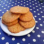 recette Cookies des grands froids miel amande