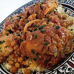 recette Cocotte de poulet à la marocaine