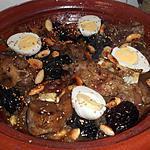 recette Tajine d'agneau aux pruneaux
