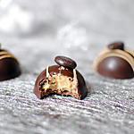 Chocolat à la mousse de chocolat au café