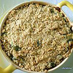 recette Crumble butternut-patate douce