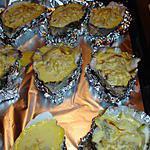 recette huitre chaudes sur son lit de poireau
