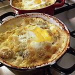 Cocotte de ravioles à la coque