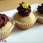 recette Cupcakes à la crème de marrons et chocolat