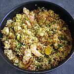 recette POELEE GOURMANDE DES ANDES