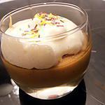 recette petite mousse au café à l'écume de chantilly
