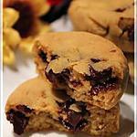 recette Biscuits à la citrouille et aux pépites de chocolat