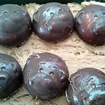 recette Mes chocolats au nutella & chataigne