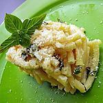 recette Macaroni et sa basilillade