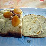 recette Pain aux abricots et noisettes