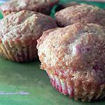recette Muffins aux fraises