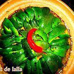 recette TAJINE AUX POIVRONS GRILLES