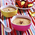 recette Crème à la banane,lait de coco et épices
