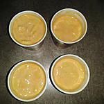 recette verrine sucré salé: crevettes et pommes granny