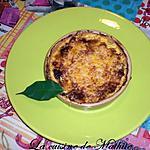 recette Mon petit gratin de champignons et aux petites pommes de terre