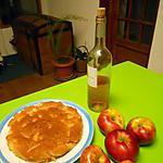 recette Moëlleux aux pommes et vin rosé