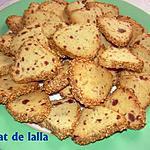 recette SABLES AUX DATTES ET EPICES