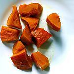 recette Potimarron mijoté à la sauce soja