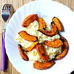 recette Risotto à l'orange et au potimarron