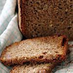 recette Pain de son de blé à la poire et au gingembre