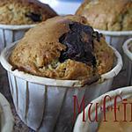 recette Muffins coeur chocolat