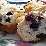 recette Muffins aux bleuets