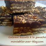 recette Gâteaux biscuits à la ganache: