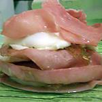 recette bacon et de oeuf