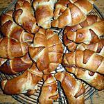 recette Croissants briochés de La Cuisine Gourmande De Bella ... à la main ^^