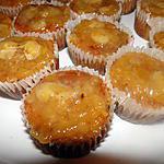 recette Cupcakes aux pommes et bananes