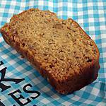 recette Cake gourmand à la banane et caramel au beurre salé