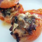 recette Tomates farcies au chèvre chaud