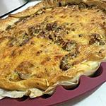 Quiche aux cépes