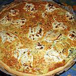 recette Tarte courgettes et boursin