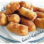 recette Croquettes de pommes de terre au fromage