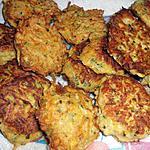 recette Beignets bio aux courgettes et carottes