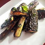 recette Frites de courgette au basilic et citron
