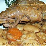 recette Souris d'agneau aux haricots tarbais