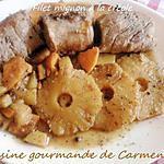 recette Filet mignon de veau à la créole