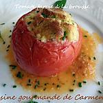 recette Pâtissons et tomates farcis à la brousse