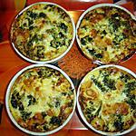 recette Petits clafoutis aux brocolis et au gruyère