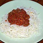 recette Sauce Bolognaise Façon Nanou