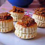 Mini vol au vent au thon