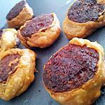 recette Chorizo feuilleté