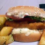 recette chicken burger sauce tartare