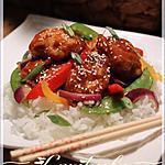 recette Poulet du général tao du restaurant Tiki Ming
