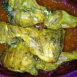 recette Cuisse de poulet aux 4 épices
