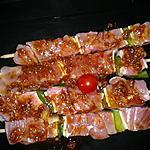 recette Brochette de dinde aux épices orientales
