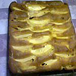 recette gâteau pommes canelle