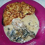 recette Râpée revisitée, cuisses de poulet fonds de placard